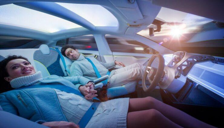 Rinspeed XchangE: Autonomes Fahren am Model S präsentiert