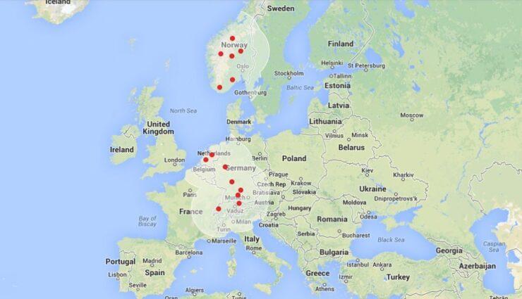 Europa: Neue Supercharger-Standorte und Service-Center angekündigt