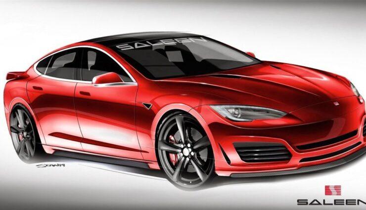 Weitere Bilder zum Saleen Tesla Model S veröffentlicht
