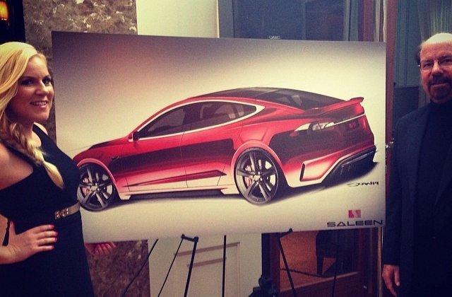 Erstes Bild zum Saleen Tesla Model S veröffentlicht