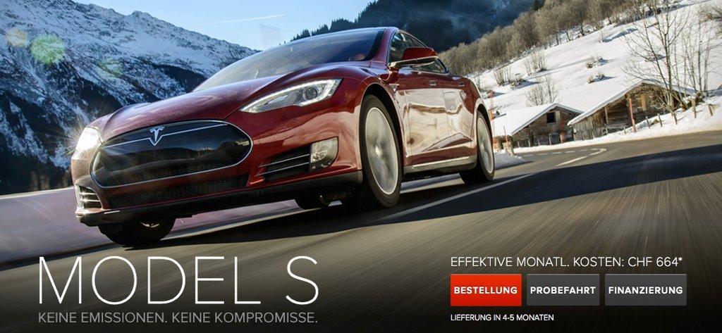 Tesla Bietet Leasing Nun Auch In Der Schweiz An Teslamag De