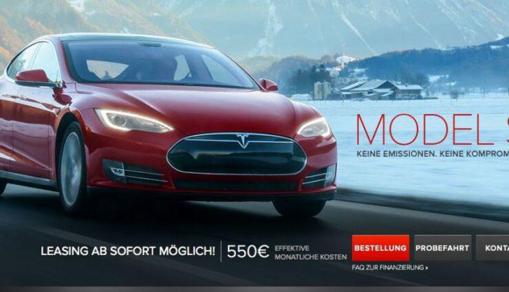 Tesla bietet ab sofort auch Leasing an