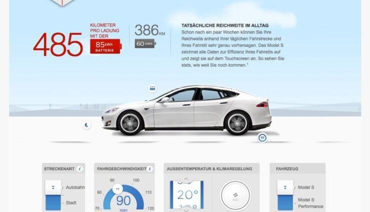 """""""Wie weit kann ich fahren?"""" – Tesla stellt Reichweitenrechner online"""