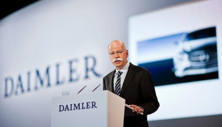 Daimler-Chef sieht traditionelle Autohersteller nicht durch Tesla Motors gefährdet