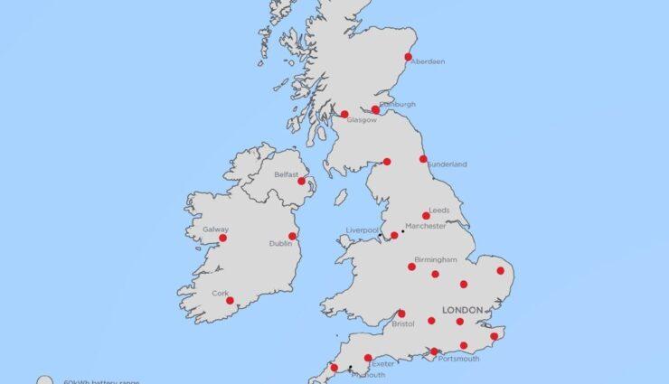 Britische Inseln: Bis Ende 2015 sollen 23 Supercharger-Stationen installiert sein