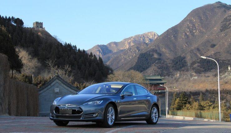 Verkäufe des Tesla Model S boomen in China