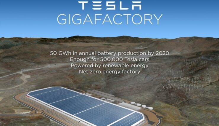Tesla Motors bestätigt Nevada als Standort für die Gigafactory, 1,25 Mrd. Dollar Subventionen
