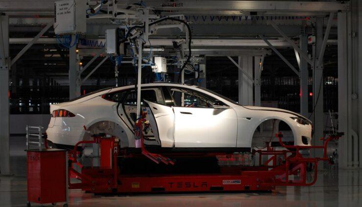 Teslas zweite Produktionsstraße könnte bis zu 3.000 Fahrzeuge pro Woche herstellen