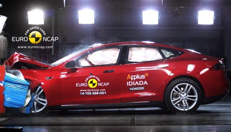 Tesla Model S erhält fünf Sterne im Euro NCAP-Test