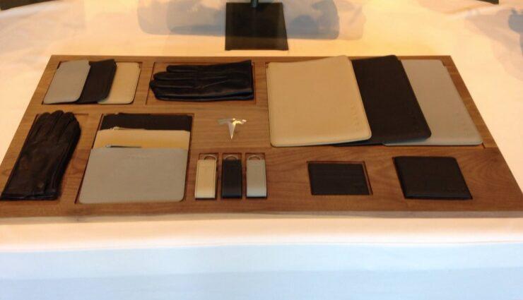 Merchandise: Neue Lederwaren von Tesla Motors bald erhältlich