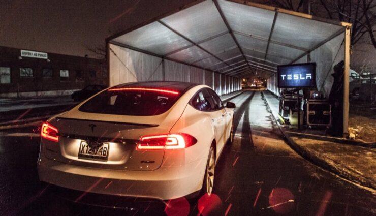 Tesla Model S P85D: Probleme mit den Airbags aufgrund neuer Sitze beseitigt