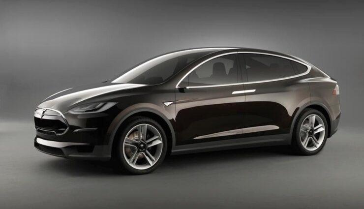 Erlkönig: Tesla Model X auf Teststrecke entdeckt