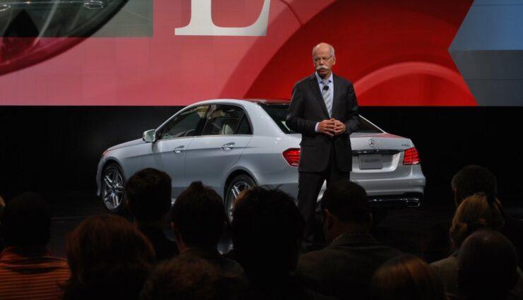 Daimler-Chef spricht im Interview über Tesla Motors und Elektrofahrzeuge