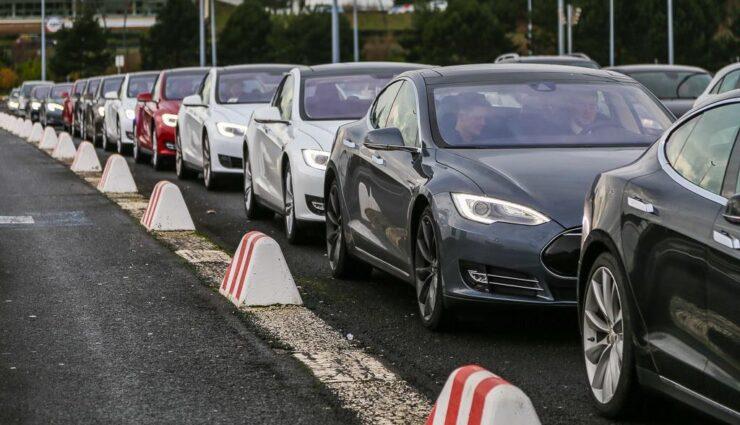 Tesla Model S erhält im Laufe dieses Jahres drei neue Lackierungen