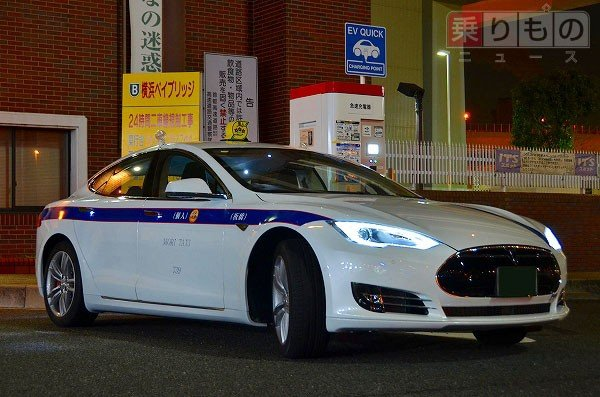 Tesla Model S als Taxi nun auch in Tokio unterwegs