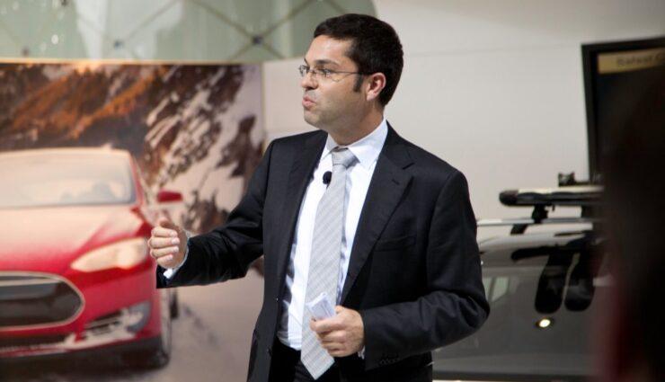 Jerome Guillen im Interview mit der WirtschaftsWoche auf dem Genfer Autosalon