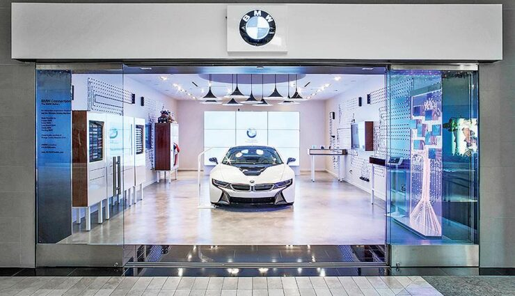 BMW eröffnet Pop-Up-Stores die an Tesla-Stores erinnern