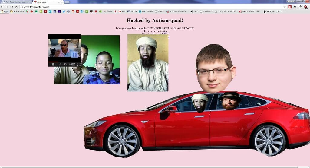 tesla-website-hack