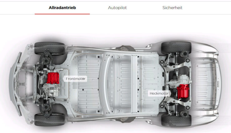 Tesla Model 3: Doppelmotor optional erhältlich, Basisversion mit einem Motor