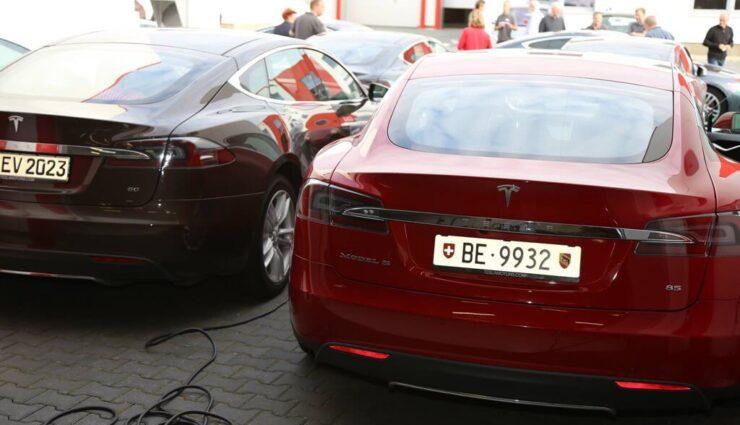 Tesla Model S: Bisheriger Absatz in Schweiz beinahe doppelt so gut wie im gesamten Vorjahr