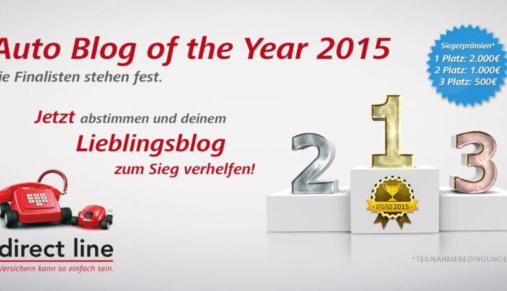 In eigener Sache: Stimmt für TeslaMag zum Auto Blog of the Year 2015 ab