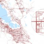 Die Karten sind teilweise bereits hochpräzise. Hier: San Francisco Bay Area
