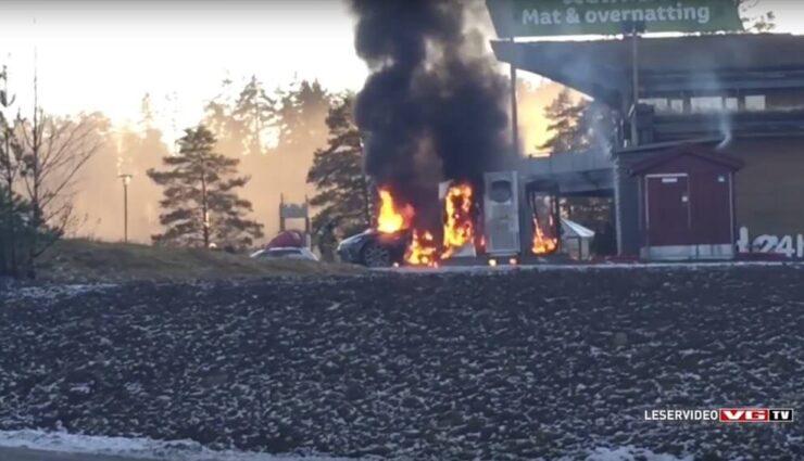 Ausgebranntes Model S aus Norwegen: Feuer anscheinend von Innen entfacht