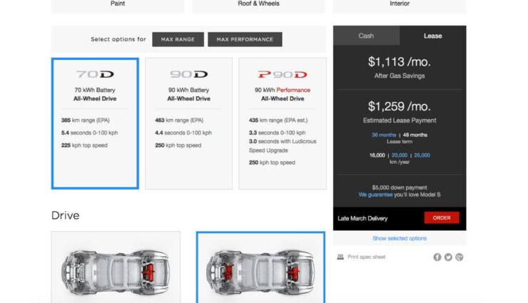 Kanada: 85 kWh-Batterie wird nicht mehr angeboten