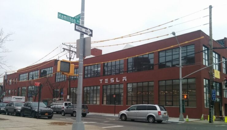 New York: Tesla Motors mietet neuen 3.700 Quadratmeter großen Showroom mit Service Center