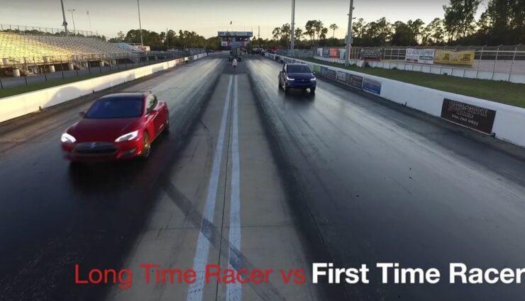 Video: Model S P90D gegen Model X P90D im Beschleunigungsrennen