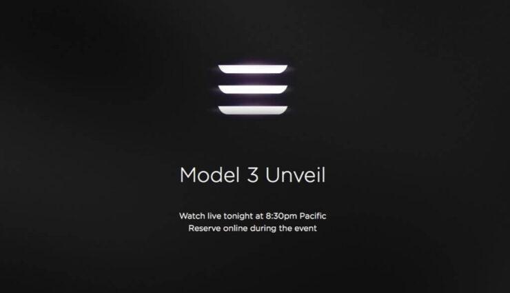 Tesla Model 3 Präsentation [Live-Blog]