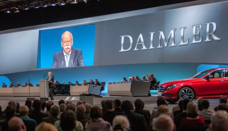 Daimler-Aktionäre besorgt über Tesla und andere Elektroautobauer