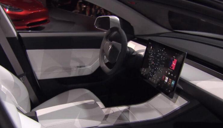 15-Zoll Display im Model 3 stammt von LG
