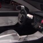 Tesla Model 3 (Prototyp) Interieur
