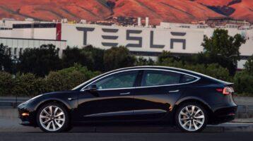 Erstes Foto des Tesla Model S mit neuer Front aufgetaucht (Update)