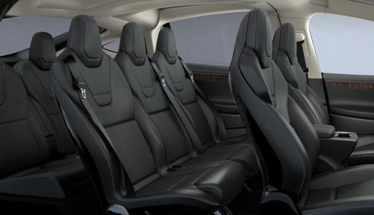 Tesla ruft 2.700 Model X zurück, Rastbeschlag der 3. Sitzreihe muss ausgewechselt werden