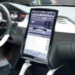 Tesla Model X (Prototyp) Interieur