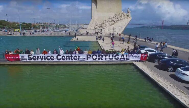 """Tesla-Kunden aus Portugal bitten um Service Center und einen Store, Elon Musk sagt """"OK"""""""