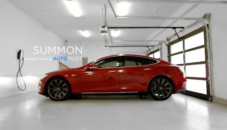 """Tesla veröffentlicht neues Update für die """"Summon""""-Funktion (Herbeirufen)"""