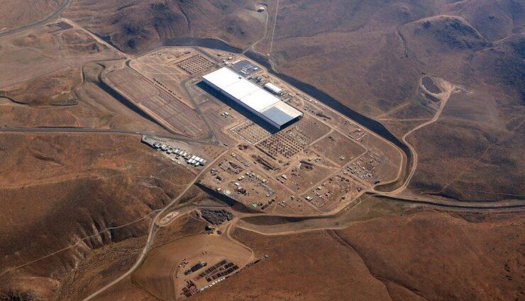 Gigafactory: Weitere Teilabschnitte befinden sich bereits in Konstruktion