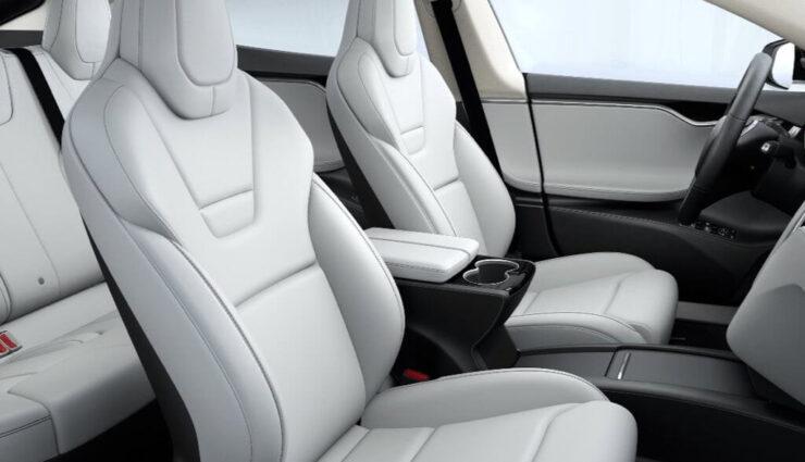 Perforierte Sitze aus dem Model X nun auch im Model S P100D erhältlich