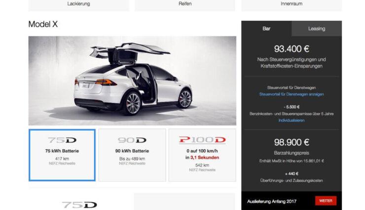Tesla Model X: Keine 60 kWh-Option mehr, teurerer Basispreis durch Smart Air-Luftfederung