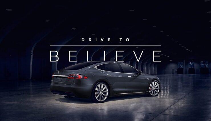 Drive to Believe: Eigenes Fahrzeug eine Woche gegen einen Tesla eintauschen