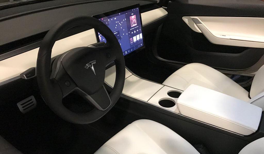 Tesla Interior Design X