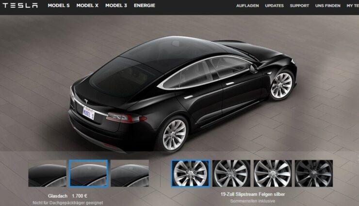 Tesla nimmt P90D aus dem Programm, neues Glasdach für das Model S erhältlich