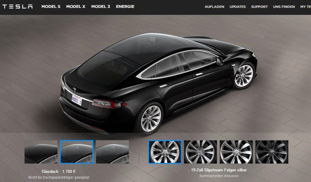 Tesla Nimmt P90d Aus Dem Programm Neues Glasdach F 252 R Das