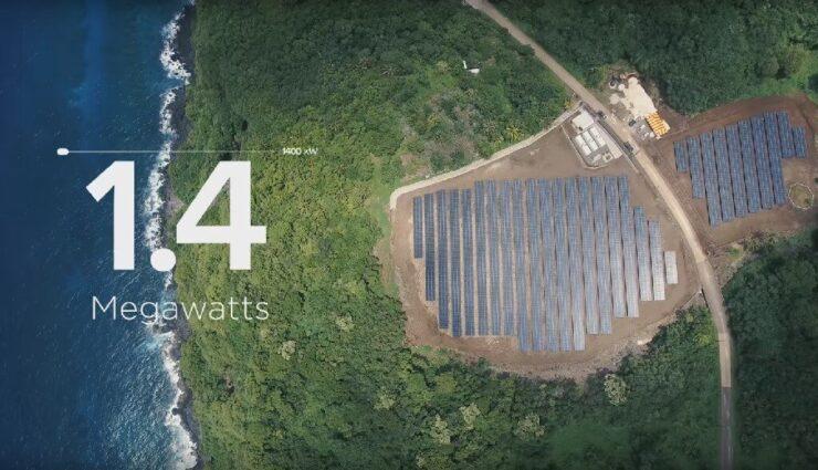 Tesla und SolarCity rüsten eine komplette Insel auf Solarstrom um