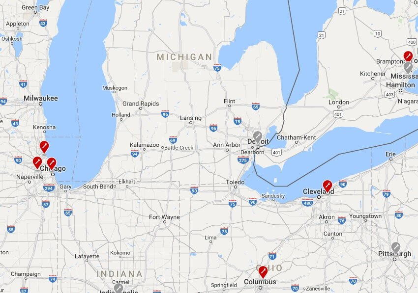 tesla-service-center-michigan-ohio