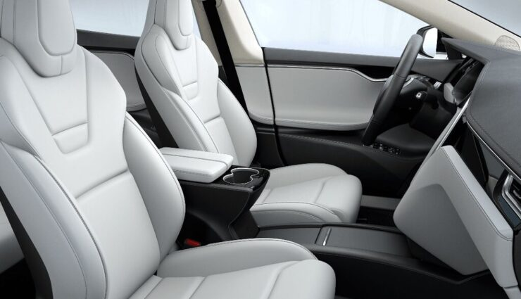 Auswahl an Sitzbezügen und Sitz-Design nun in allen Model S angeglichen