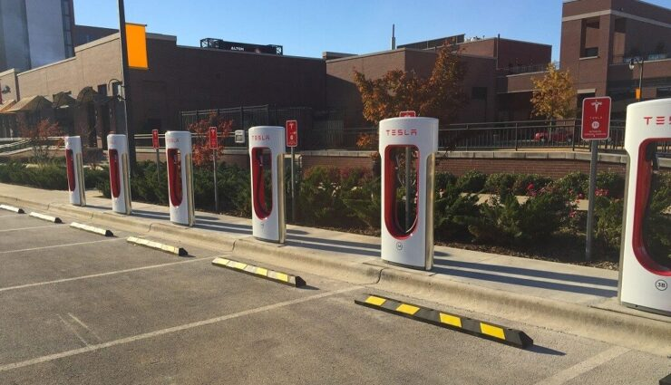 2017: Tesla gibt Ziele für Supercharger-Expansion bekannt
